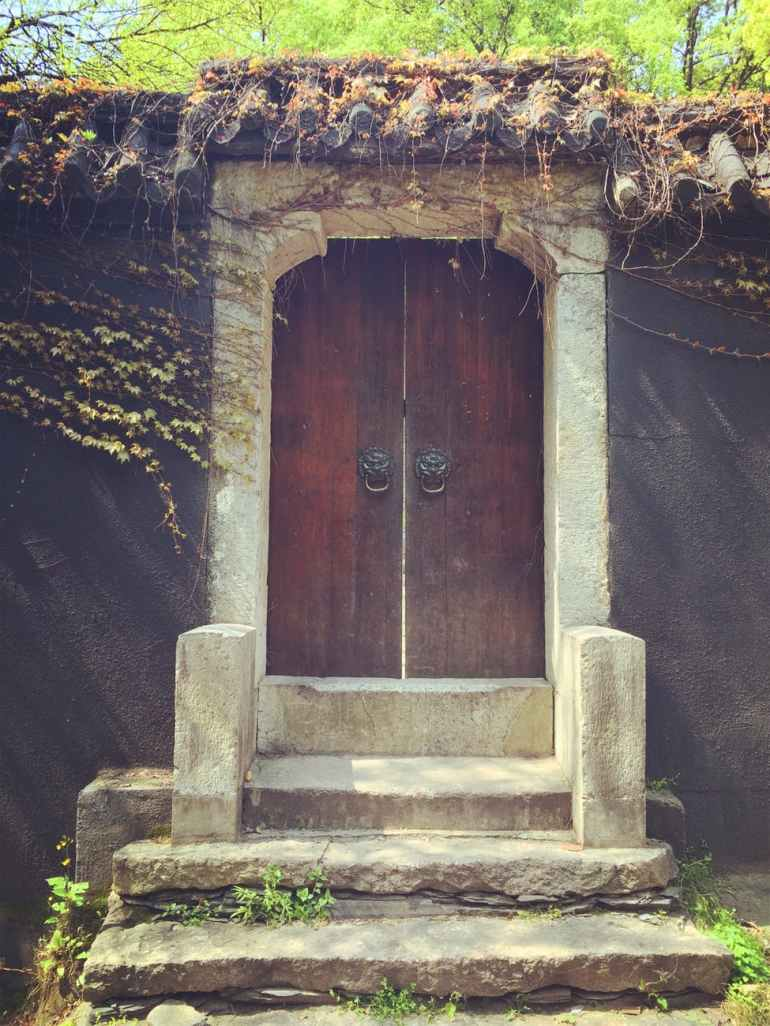 ancient antique architecture door
