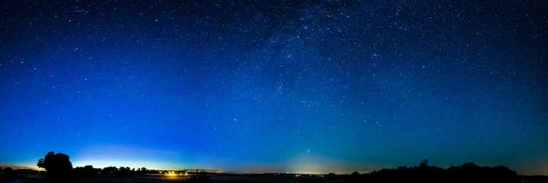 astronomy blue bright clouds