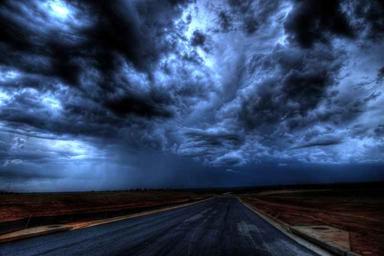 clouds dark dark clouds darkness