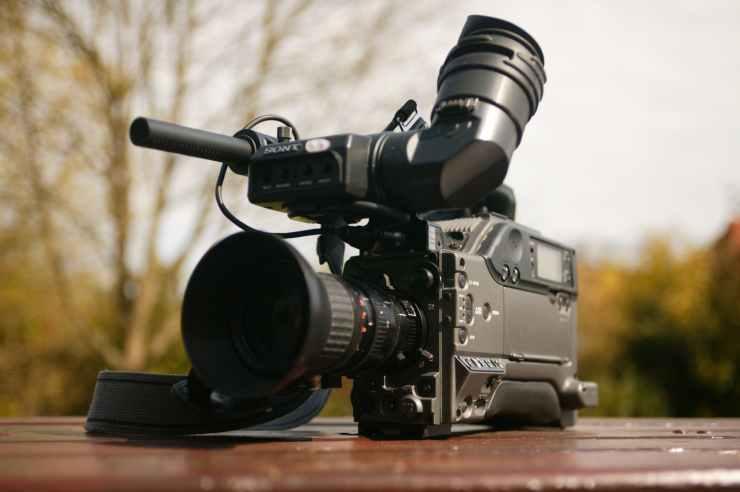 television camera broadcast camera